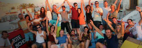 Enjoy kitesurfing and watersports
