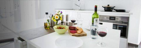 Kitchen in Don Juliaan Apartment